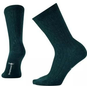 SmartWool Womens Wool Socks Cable Knit